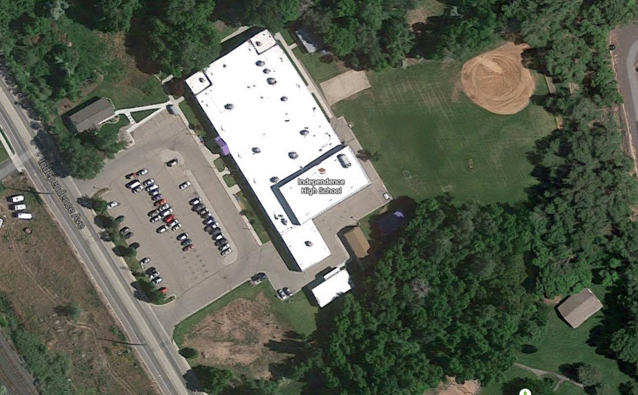 Independence High School Provo Utah Google Earth View