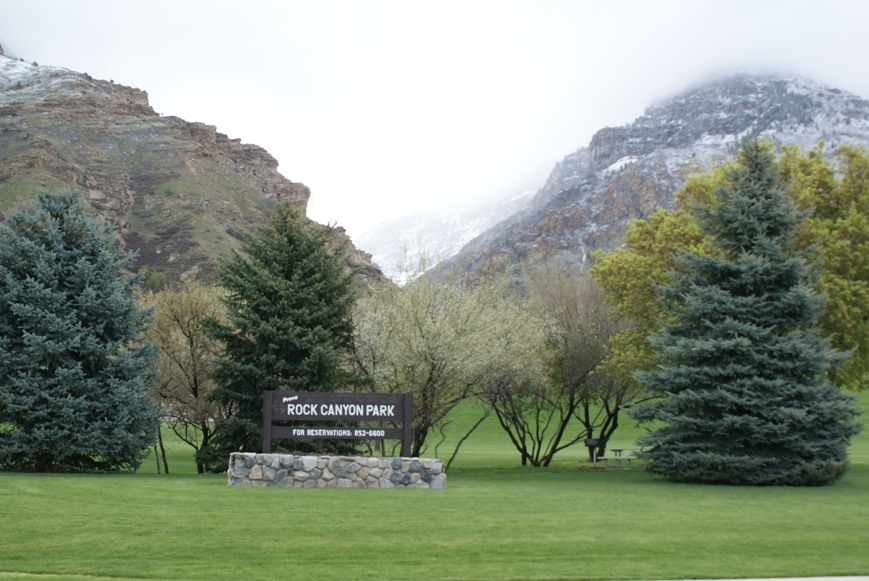 Rock Canyon Park, Provo Utah