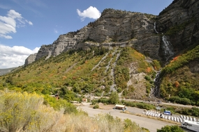 Bridal Veil Falls - Points of Interest Provo Utah