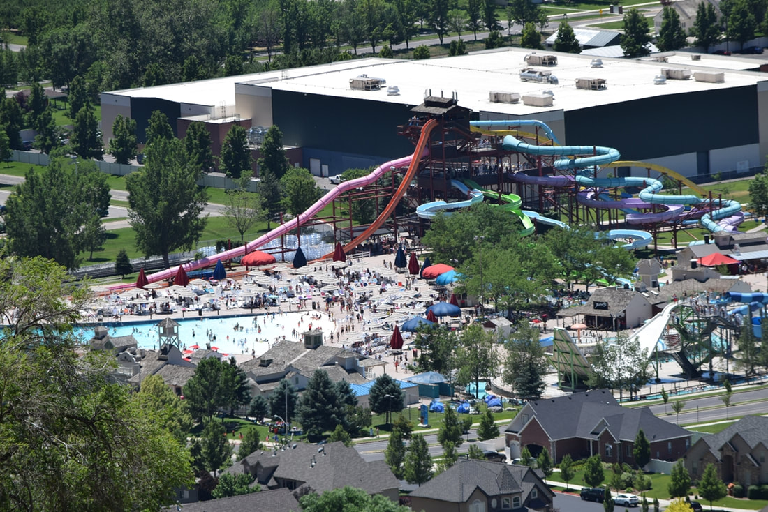 Splash Summit Waterpark, Provo Utah