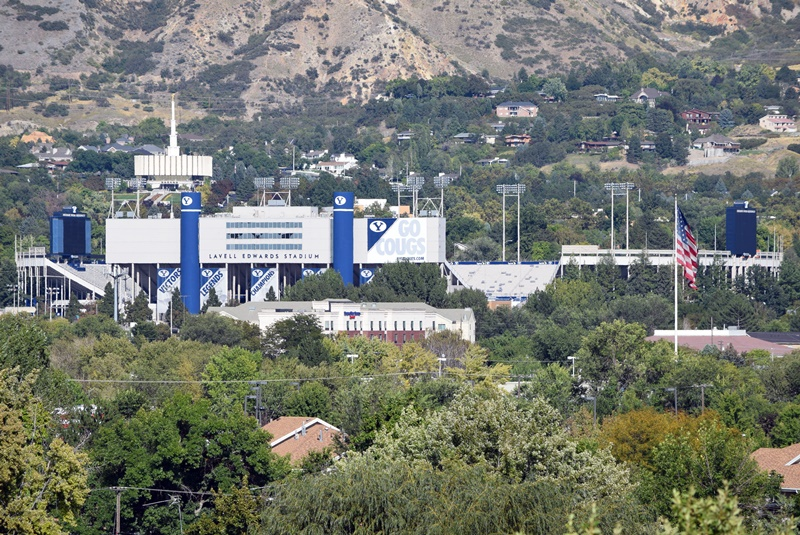 BYU Football Stadium - Points of Interest Provo Utah